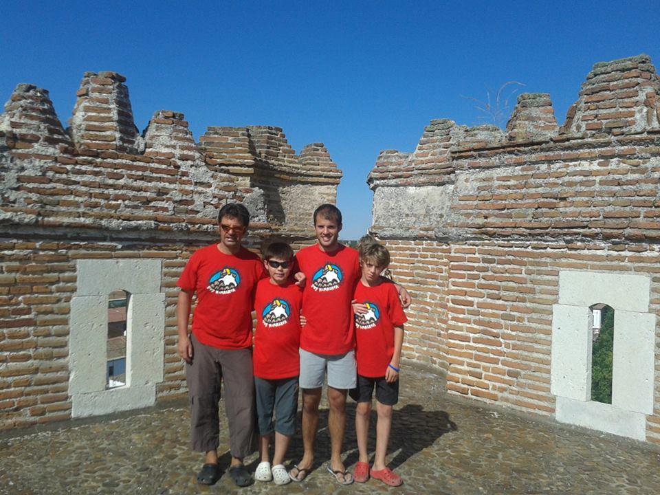 Visitando Coca y su castillo