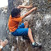 DAVID MORENO, Encadenamiento RIGOL MORTIS 8a - BECAS TODOVERTICAL 2016