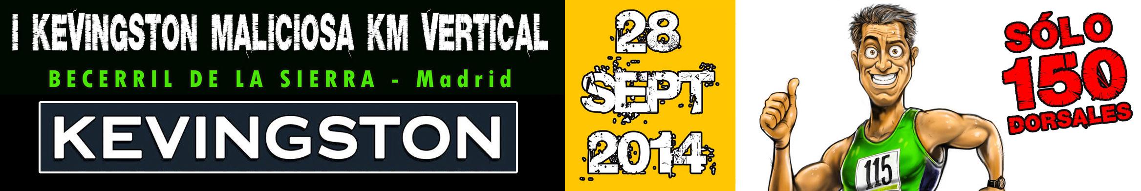 I KEVINGSTON MALICIOSA KM VERTICAL- 28 Septiembre 2014 by TODOVERTICAL