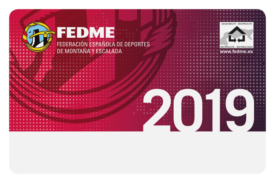REGISTRO DE SOCIO Y LICENCIA FEDERATIVA FEDME ONLINE 2019