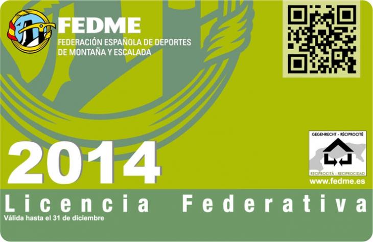 LICENCIA FEDERATIVA 2014