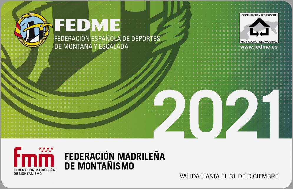 REGISTRO DE SOCIO Y LICENCIA FEDERATIVA FEDME ONLINE 2021